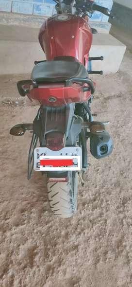 Yamaha FZ red colour