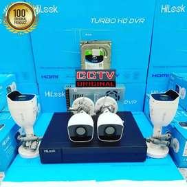 Harga spesial paket kamera CCTV hilook HIKVISION COD