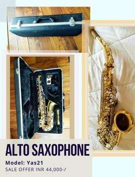 Saxophone: Alto Yamaha Sax - Yas 21