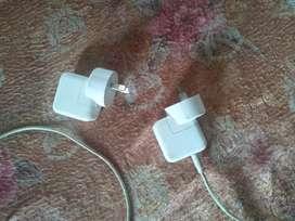 I Phone  charger,,original 2 peice , second hand