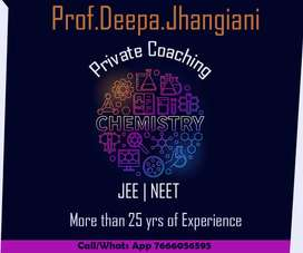 PRIVATE COACHING FOR JEE NEET EXAMS