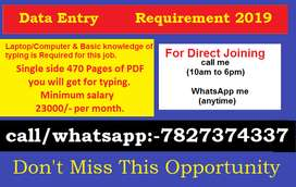 Data entry job available. Call me or WhatsApp me for more details.