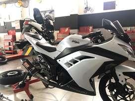 Ninja 250 Fi, tinggal gas