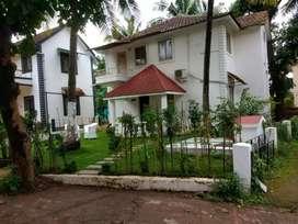 Porvorim Chogam road 3bhk private villa at angel Resorts