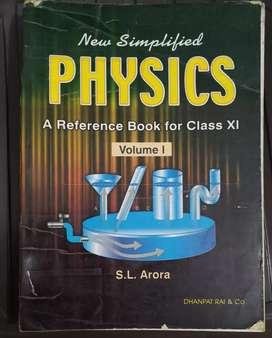 S.L. Arora Class 11 physics Vol 1 & Vol 2
