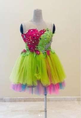 Cuci Gudang 2 Short Dress Penjahit Preloved Kain Super