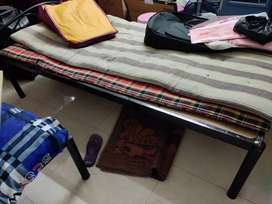 Iron cot available for sale