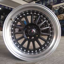 Velg racing ring 16 warna black polish tipe namlea hsr