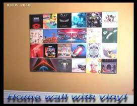 40 Old antique records for wall decorations