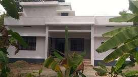 5 cent land with 1400 sqft house at kanjoor,near airport,aluva,kochi