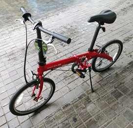 Sepeda Lipat Dahon Vybe D7