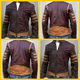 Jaket Kulit Domba Super Premium Jaket Wolverine Jaket X Men Realpict