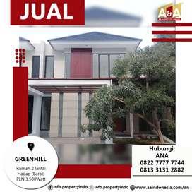 Dijual Rumah Greenhill