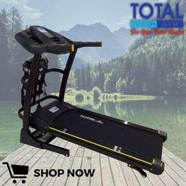 Alat Olahraga Treadmill Elektrik TL 636 Bisa COD antar dan pasang