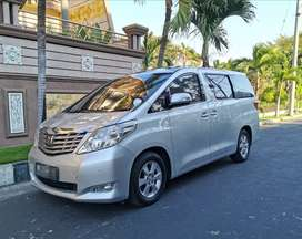 ALPHARD 2.4 AT 2009 matic.CBU japan.tgn 1.sunroof jok kulit.W.termurah