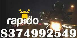 GET FREE JOINING IN RAPIDO BIKE/EARN DAILY INCOME/NO TARGETS