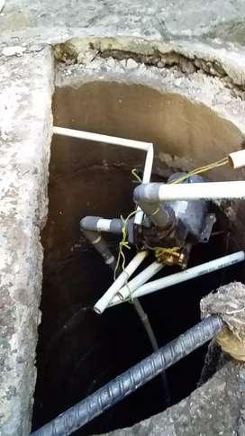 Jasa servis pompa air murah/suntik sumur