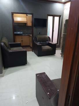 650 square feet totally furnished flat available in Johar Town j2