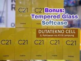 Realme C21 3/32 (Bonus TG & Softcase) Garansi Resmi