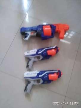 Nerf elite senjata mainan