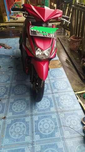 Dijual Sepeda Motor Mio Z warna merah