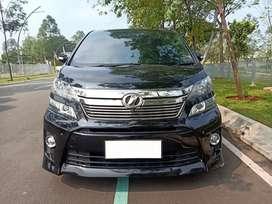Toyota Vellfire 2.4 Zg premium sound at 2012
