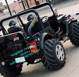 Landi modified jeep