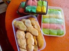 Durian kupas medan, pancake durian, Klayatan gg 3 Sukun Malang Kota