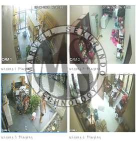PESAN SEKARANG ! CCTV merk HIKVISION 4 Chanel Bergaransi