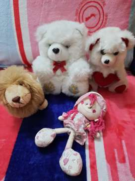 Toys soft toys four in 500