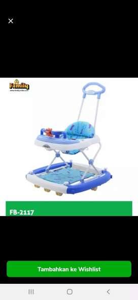 Baby walker musik family fb 2117