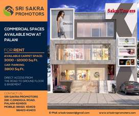 COMMERICIAL SPACES FOR RENT - PALANI