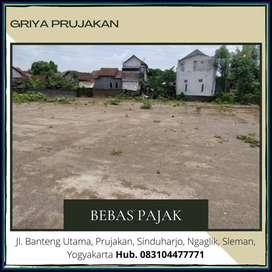 Paling MURAH Siap Bangun 150 m Jl Kaliurang , Siap AJB, Free Pajak