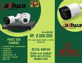 Pasang CCTV DAHUA Pantau Aset, Rumah & Keluarga Anda. Lewat Di Hp