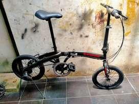 Sepeda lipat exotic UK 16