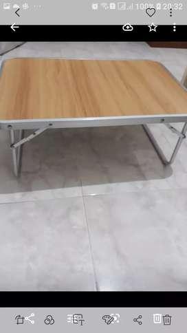 Meja belajar lipat,bahan impor,praktis,kokoh,kuat