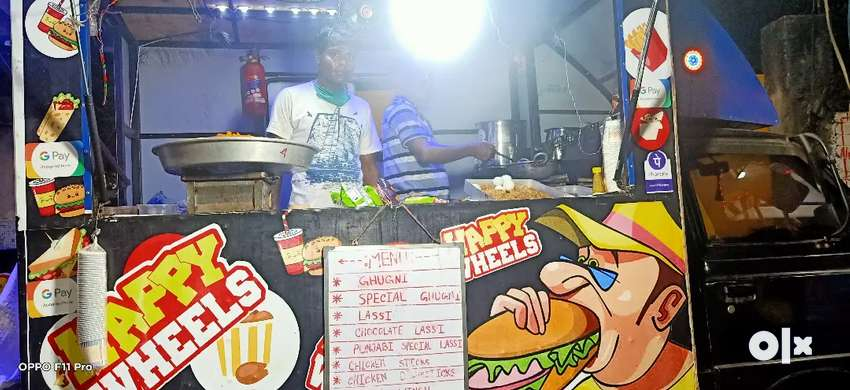 Food truck sell full readymade car