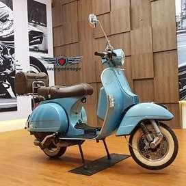Piaggio PX 150 (2tak 150 cc)  70th anniversary, FP plat N, odo 338 km