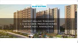 At 35 Lakh 1 Bhk flat in baner mahalunge,with All premium Amenities