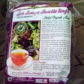 100gr Teh Bunga Rosella Ungu / Rosela Ungu / Teh Herbal Sehat Alami