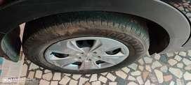 Creta Full Tyre Set(Including Wheelcup and  Rim) 205/65 R16