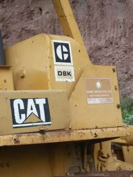 CAT D8K Bulldozer 1980