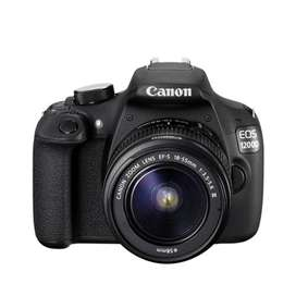 Canon 1200D for sale with tripod stand
