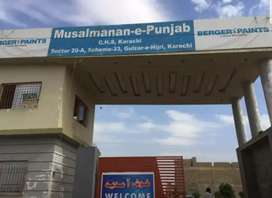 Chance Deal Plot For Sale Musalmanan e Punjab Scheme 33 Super Highway