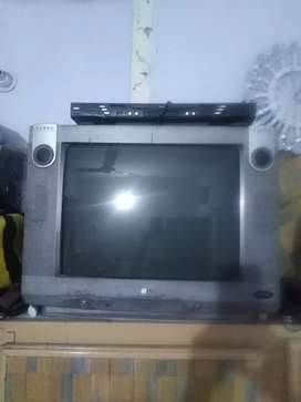 LG (TV) with DVD player