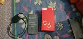 Redmi y3 32MP selfie camera only 8months use 7500