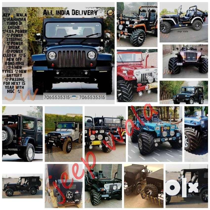 Open Modified Jeep Jypsy & Thar Jeeps 0