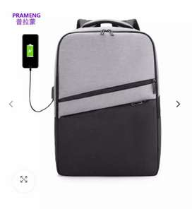 PRAMENG Business Backpack with USB charging port