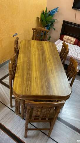 Excellent condition Teakwood Dining Table