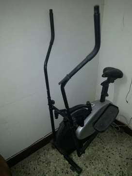 We have ab shaper exercise machine and twister. Both are manual
